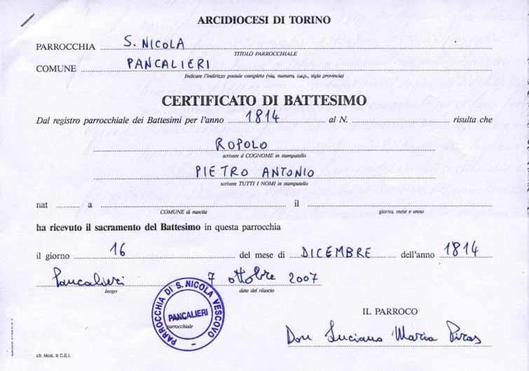 Acta De Matrimonio Catolico : Certificado de bautizo imagui